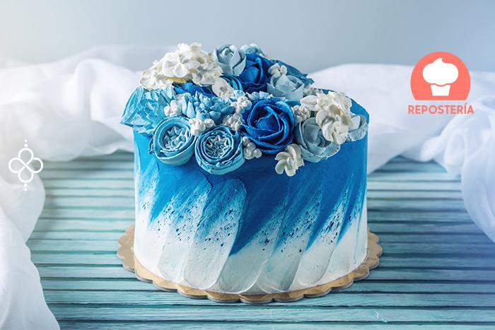 decoración de pasteles sencillos