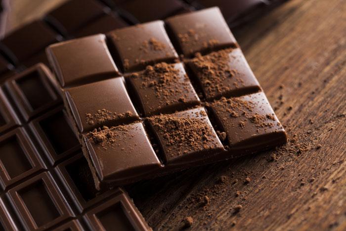 Ingredientes para cupcakes de chocolate