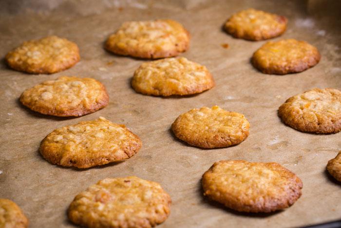 galletas con avena y plátano