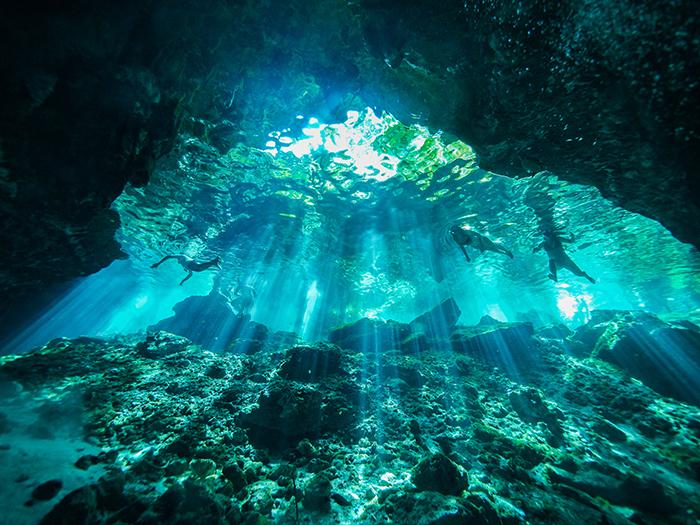 Cenotes en Cancún