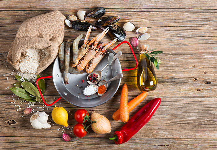 paella ingredientes