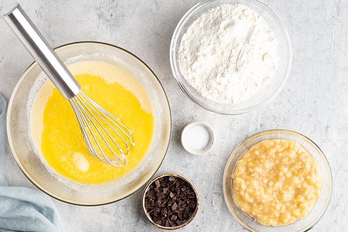 receta pan de platano